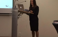 CFT Director Yasmin Milner key note speaking at the 2014 EBACE Cabin Crew Conference