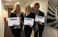 First Corporate Flight Attendants to complete the New Food Safety Training Program